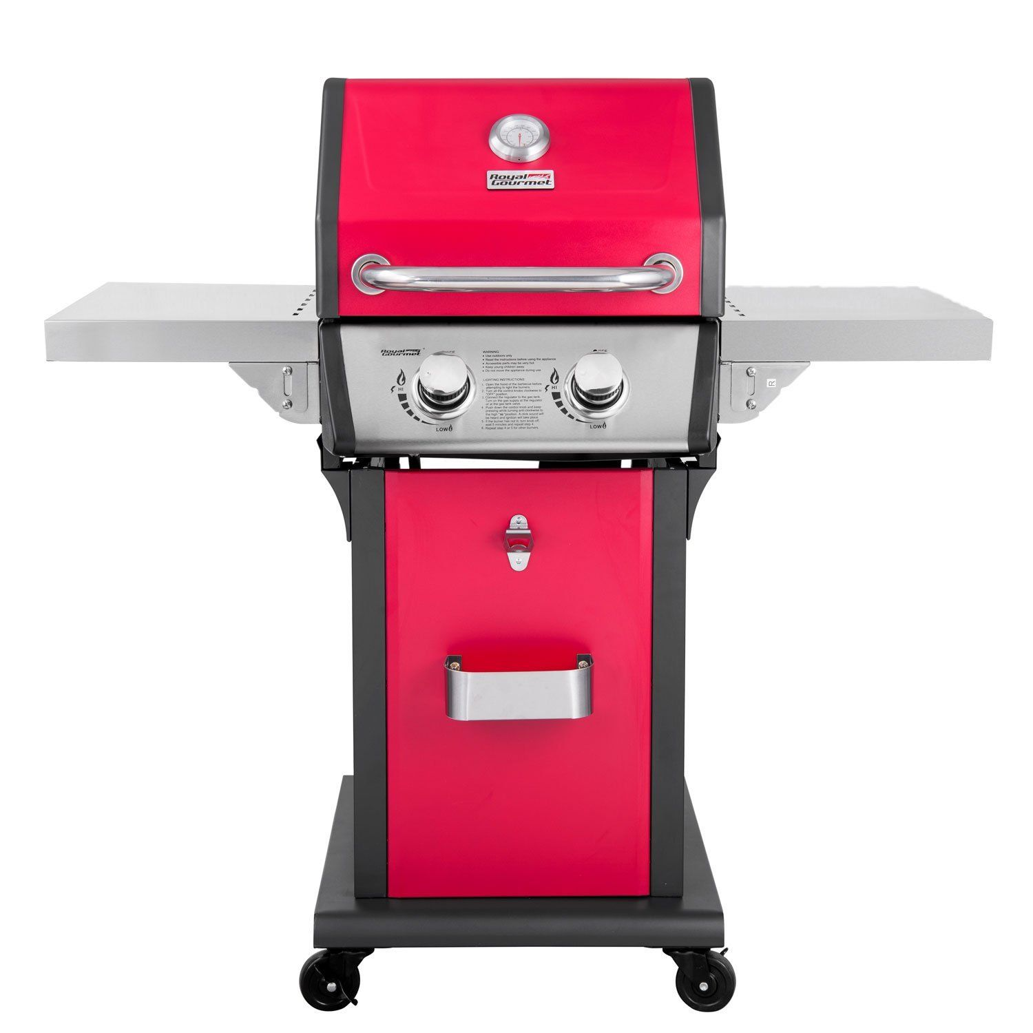 Royal Gourmet Cabinet Patio Propane Gas Grill 2 Burner Red Best Gas Grills 2019 Weber Grills Charcoal G Best Gas Grills Propane Gas Grill Best Charcoal Grill