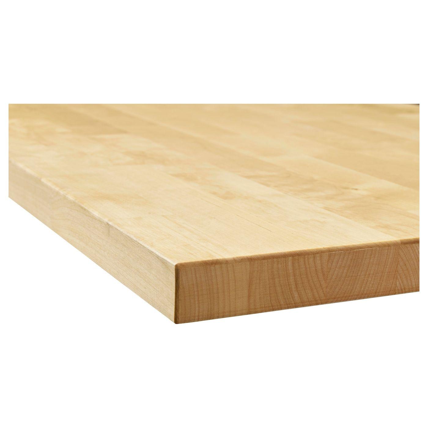 Karlby Countertop Birch Veneer 74x1 1 2 Arbeitsplatte Massivholz Arbeitsplatte Ikea Produkte