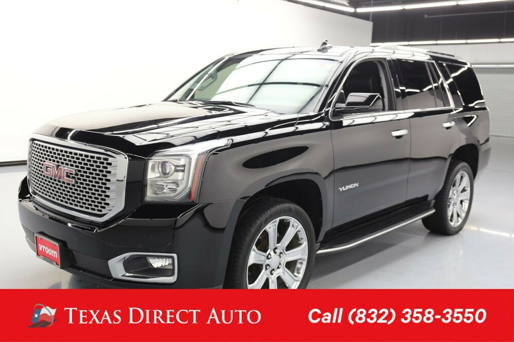 For Sale 2016 Gmc Yukon Sle Texas Direct Auto 2016 Sle Used 5 3l
