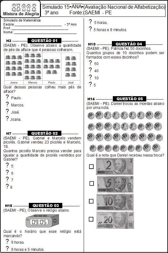 Avaliacao Matematica Ana 3 C2 Baano 1 Imprimir Jpg 542 813 Com