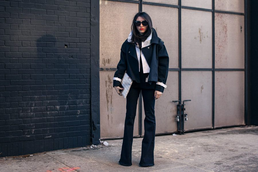 #NYFW #StreetStyle, Day One.