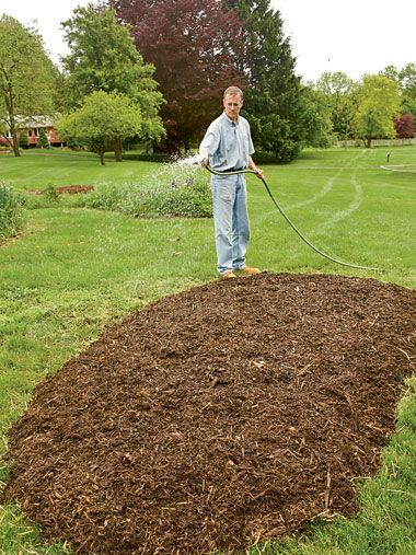 I have several areas in the yard I want to turn into flower beds but because of the clay it is a lot of hard work!