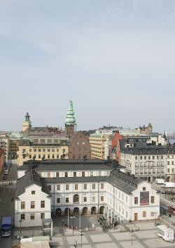 Stockholm City Museum Stadsmuseets byggnad