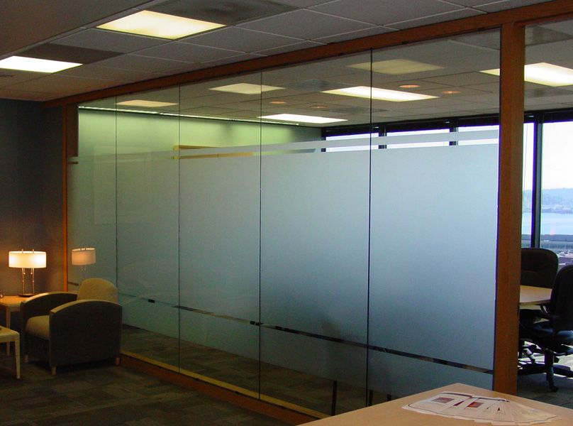 Frosted glass conference rooms google search for Office window design