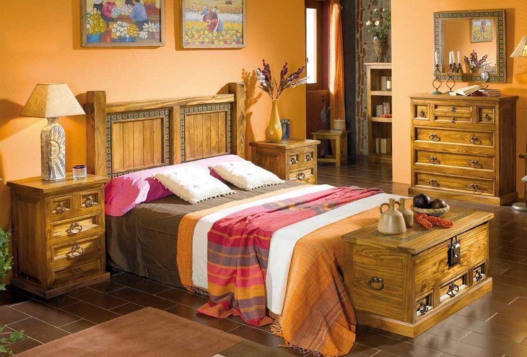 dormitorios rusticos45 | Cama | Pinterest | Dormitorio, Dormitorios ...