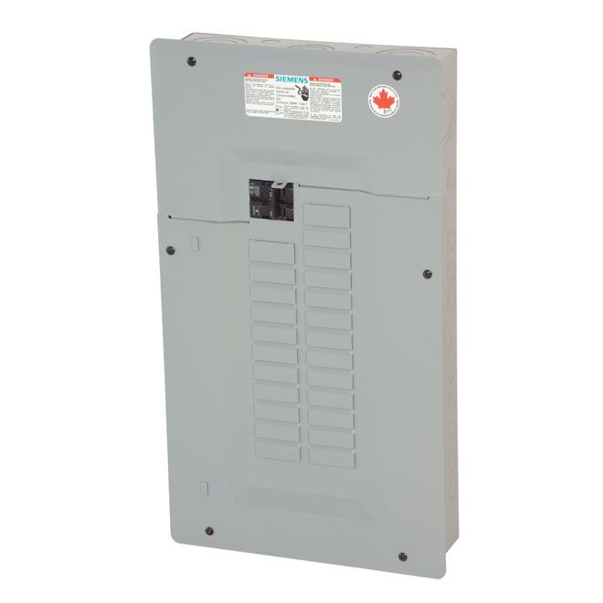 Siemens 100a Electrical Panel With 24 Circuits Expandable To 48 Xp24100af Rona Electrical Panel Hardware Storage Locker Storage
