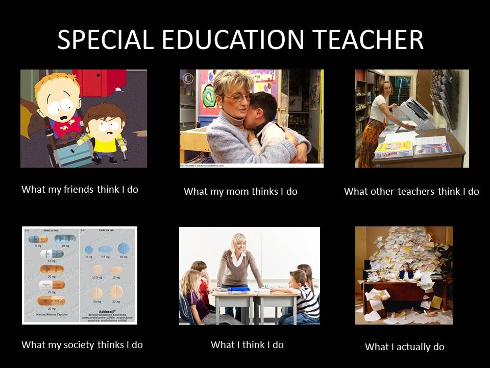 Image 251468 What People Think I Do What I Really Do Special Education Teacher Humor Special Education Teacher Memes