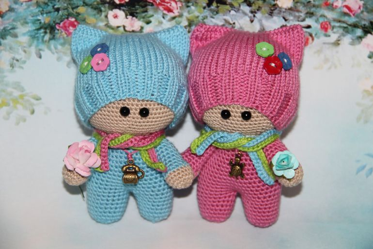 ganchillo juguete juguetes esquema de tejer niño yo-yo | Muñecas ...