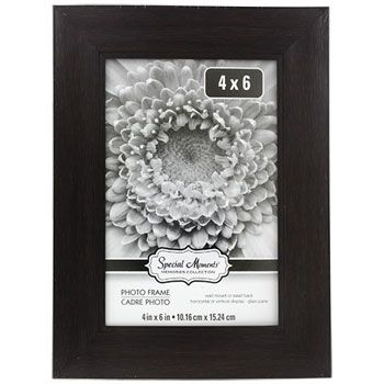 Bulk Special Moments Faux Wood Wide Border Picture Frames 4x6 In