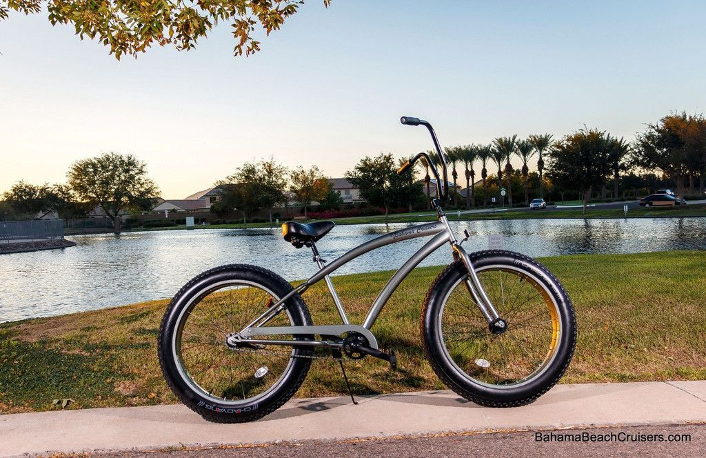 Bahama Beach Cruiser Fat Tire Bikes