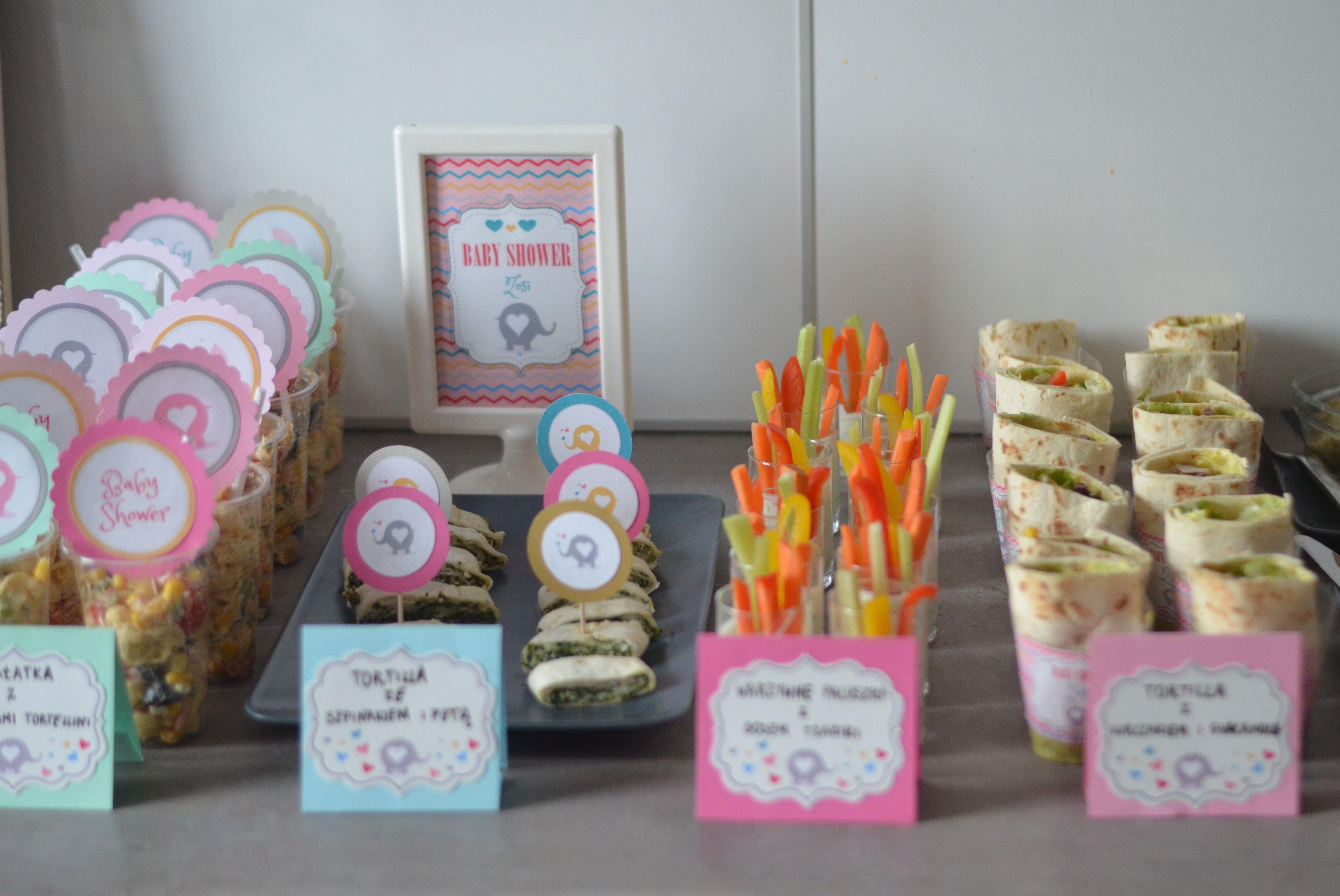 Przekaski Na Impreze Baby Shower Babyshower Food Fingerfood