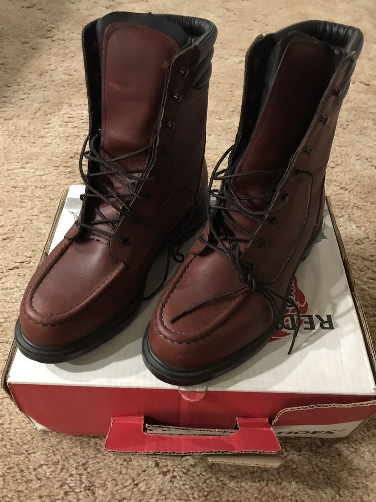 RED WING BOOTS 402 Size 8E New In Box