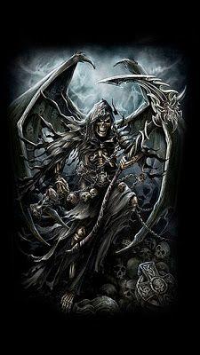 Death erotic fantasy excited too