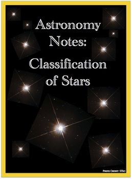 Notes star classification the science classroom pinterest awesome science powerpoint for middle school astronomy includes absolute vs apparent magnitude hr diagram data collection etc ccuart Image collections