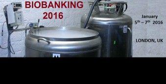 런던 바이오 뱅킹 Biobanking 2016 Biobanking