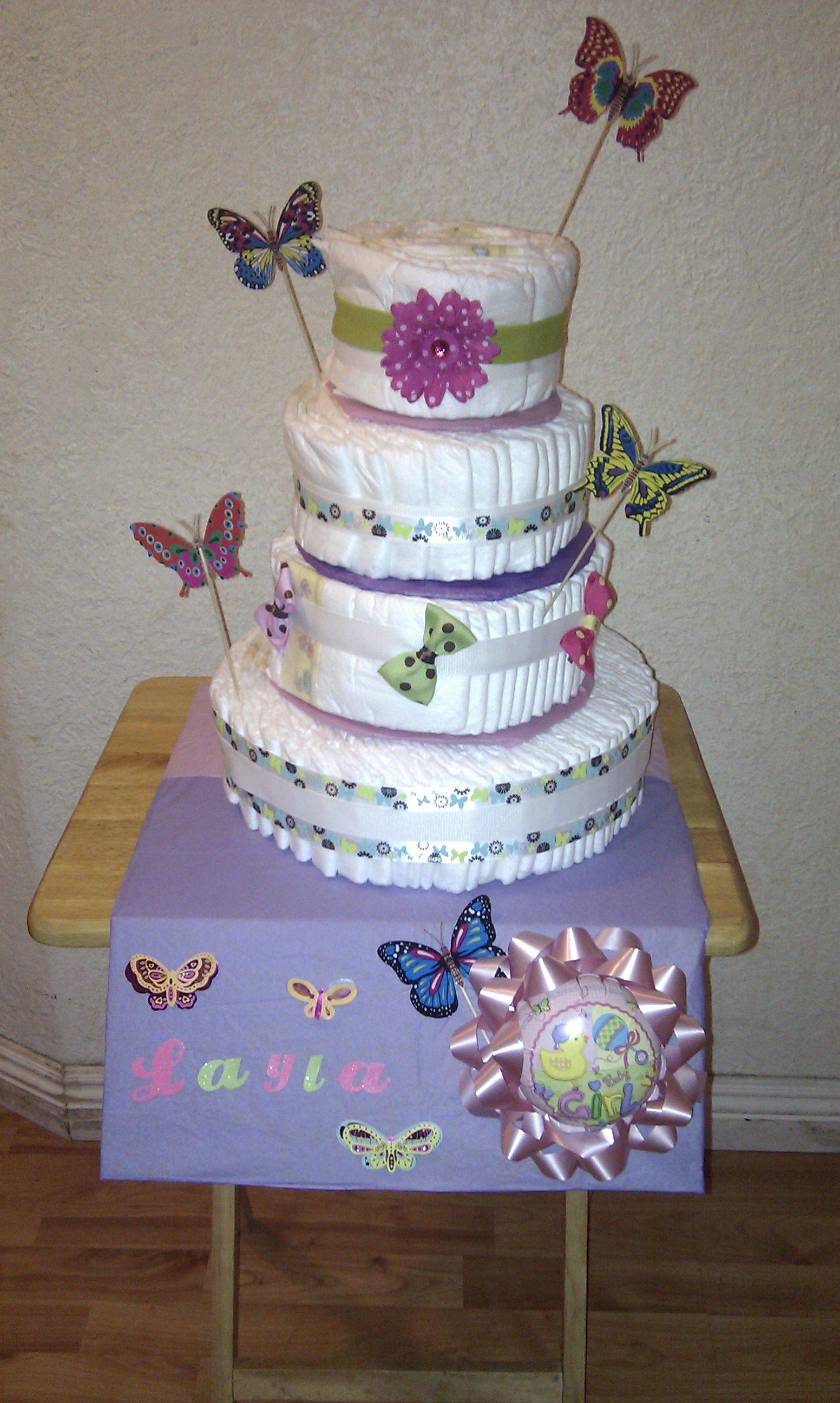Diaper Cake!!!