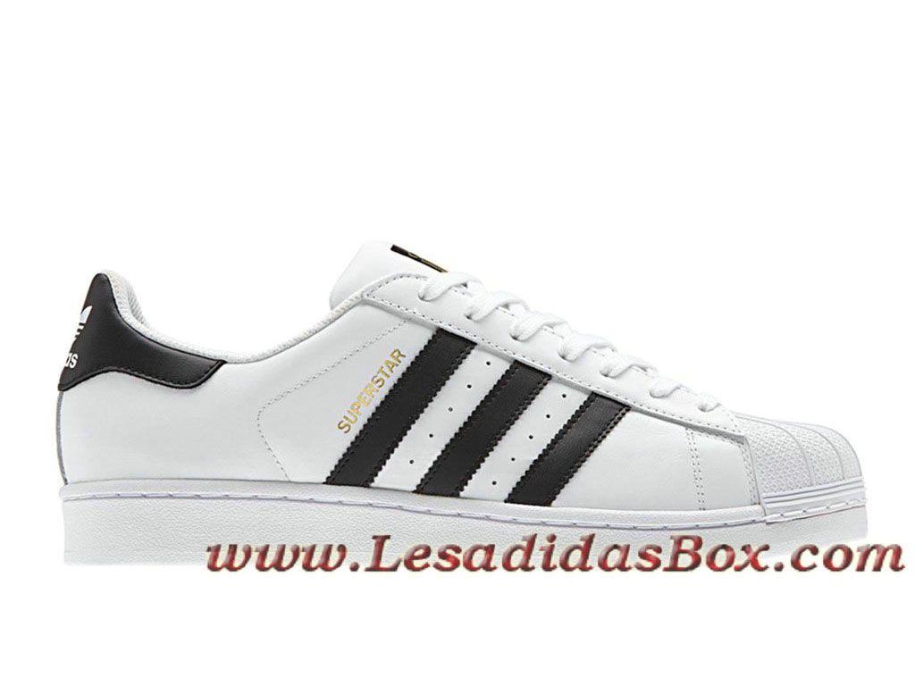 quality design 5b797 b65ae Adidas Chaussures Homme Femme Originals Superstar Foundation Blanc Noir  C77124 Officiel Adidas. Zapatillas De Deporte NegrasAdidas HombreZapatos ...
