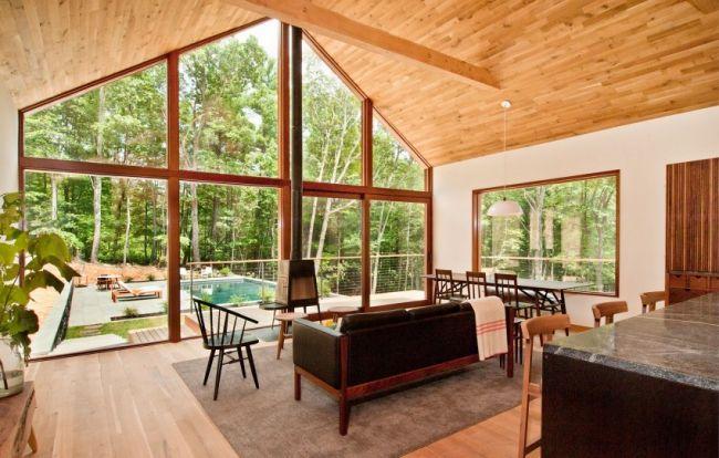 Chalet contemporain en bois de Lang Architecture | Woods