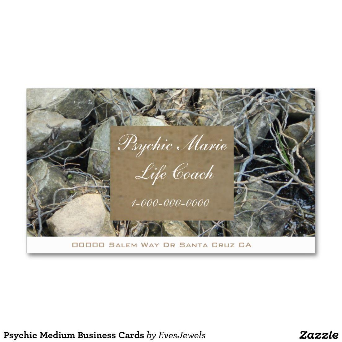 Psychic Medium Business Cards | Business Cards | Pinterest