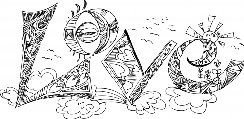 Doodle Coloring Page