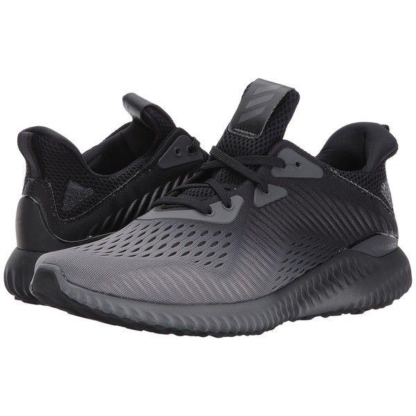 Adidas corriendo AlphaBounce em monstruo Fade (negro / gris / blanco) de los hombres
