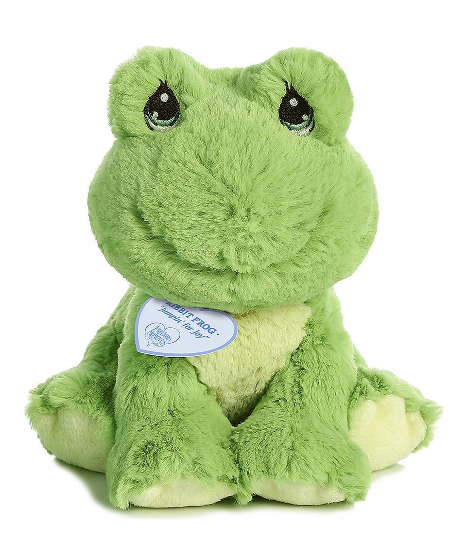 Take a look at this Ribbit Frog Plush Toy today! Plush