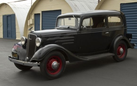 1935 chevrolet two door sedan 1930s american rides for 1930 chevy 4 door