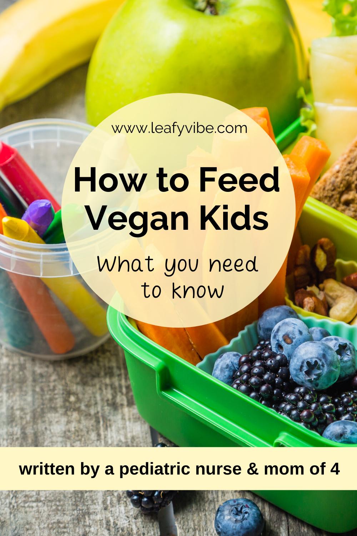 how do toddler get vitamins on vegan diet