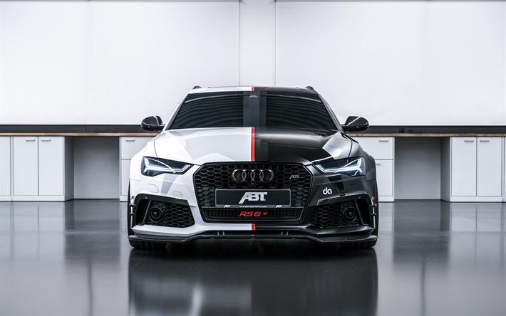 Download Wallpapers Abt Audi Rs6 Avant 4k 2018 Cars Abt