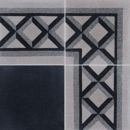 Cement Tiles Croisillon F A 01 27 07 Couleurs Matieres