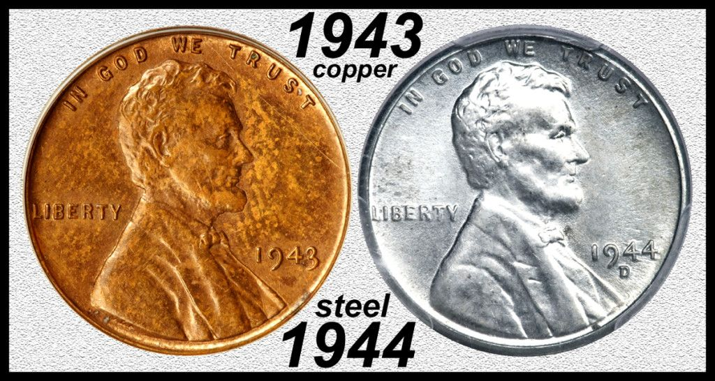 1943 Copper Cent Coin Worth Coins Coins Worth Money