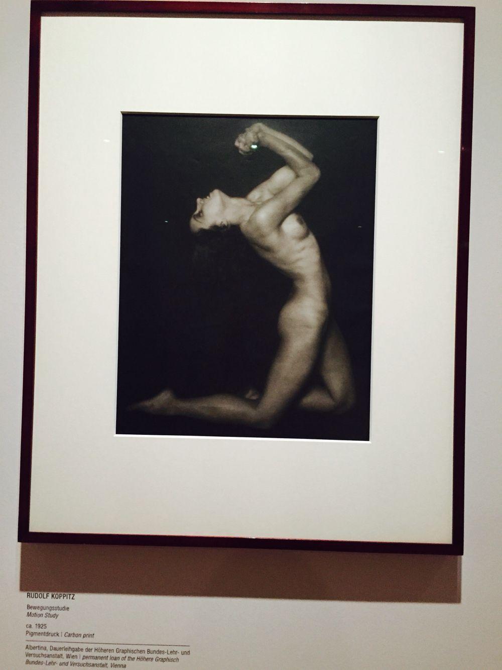 """Rudolf Koppitz - """"Motion Study"""""""
