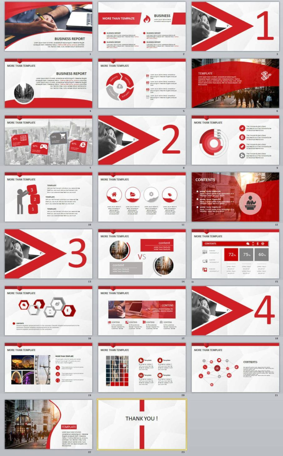 23 red business report powerpoint templates nature powerpoint 23 red business report powerpoint templates the highest quality powerpoint templates and keynote templates wajeb Gallery