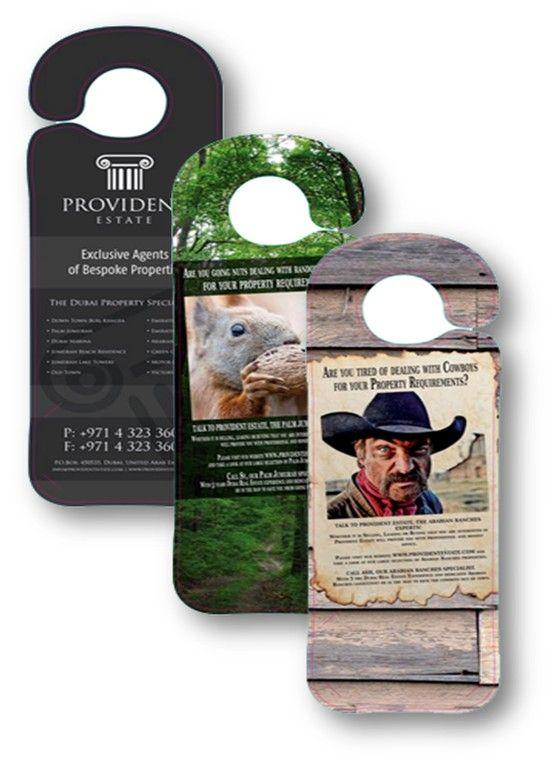Door Hangers provide an eye-catching, professional representation - retail and consumer door hanger template