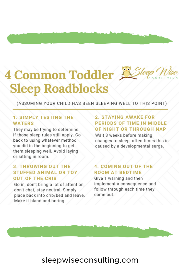Sleep Deprivation Roadblock To >> Check Out Our 4 Common Toddler Sleep Roadblocks And What You Can Do
