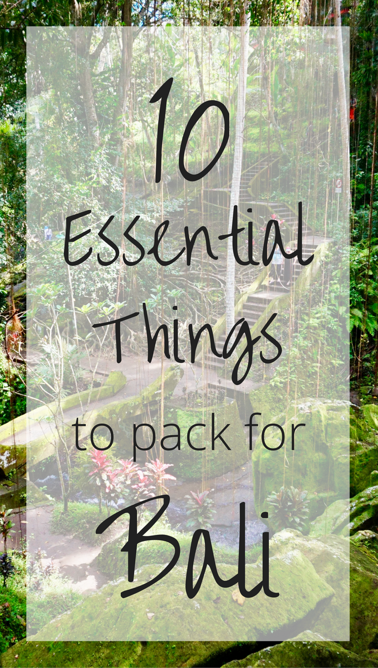 Traveling to the beautiful island of #Bali soon and don't know what to pack? Check out this list of 10 essential things to pack for #Bali, #Indonesia! | #travel #packinglist #thingstopack