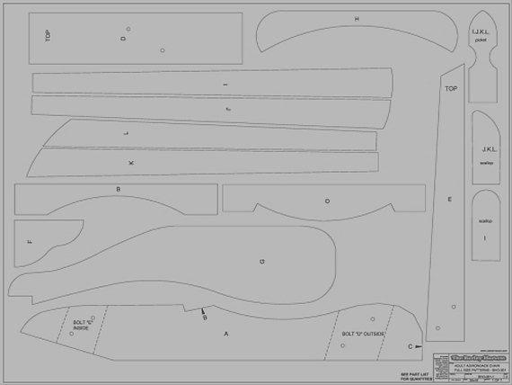 Silla adirondack planos pdf buscar con google carlos for Planos silla ergonomica pdf