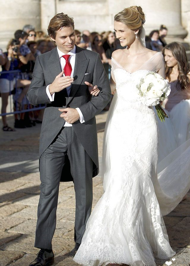 Fotos de Vestidos de Novia de Famosas | Royal style, Wedding dress ...
