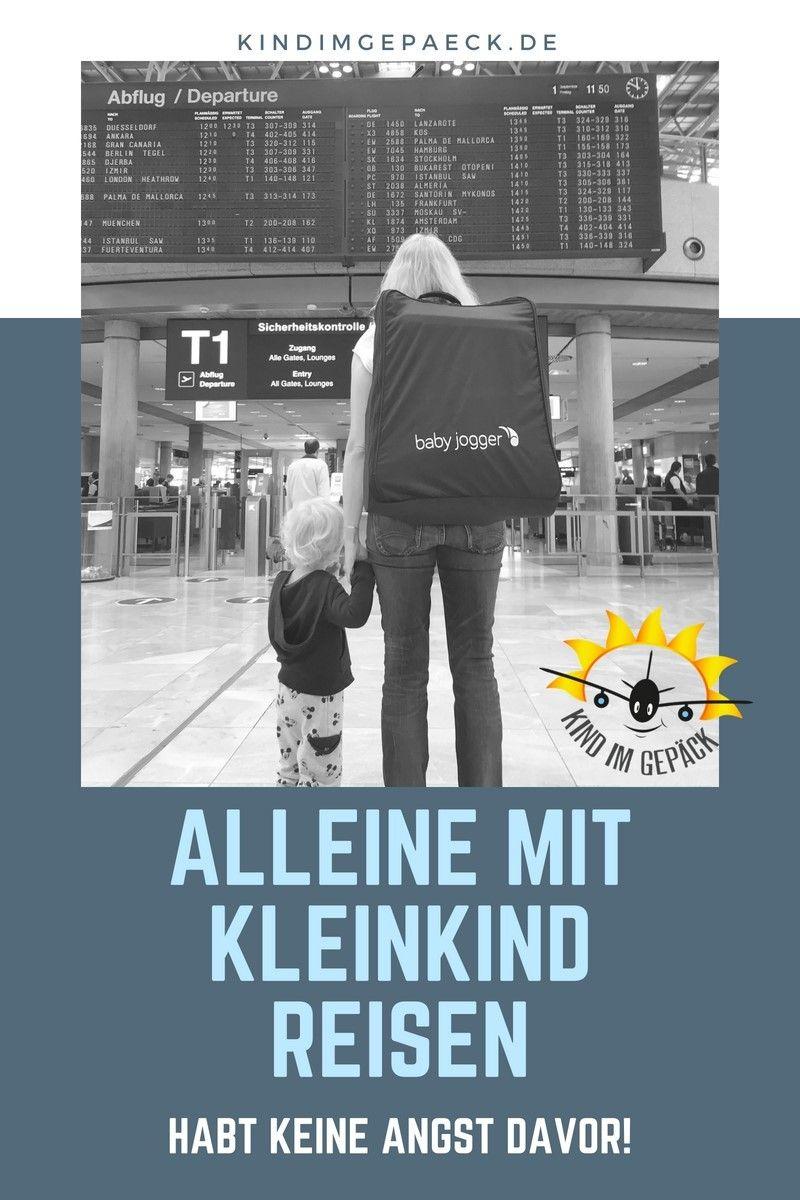 Alleine mit Kleinkind unterwegs | Reisen mit kleinkindern