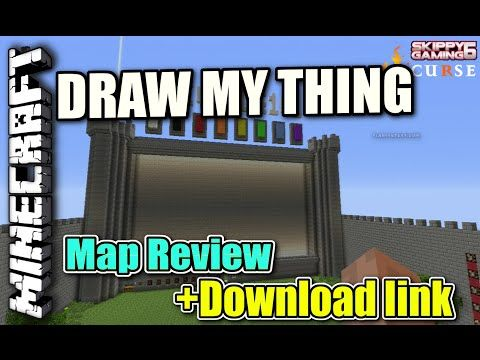 Draw My Thing Map (Minecraft PS4) mcps4download