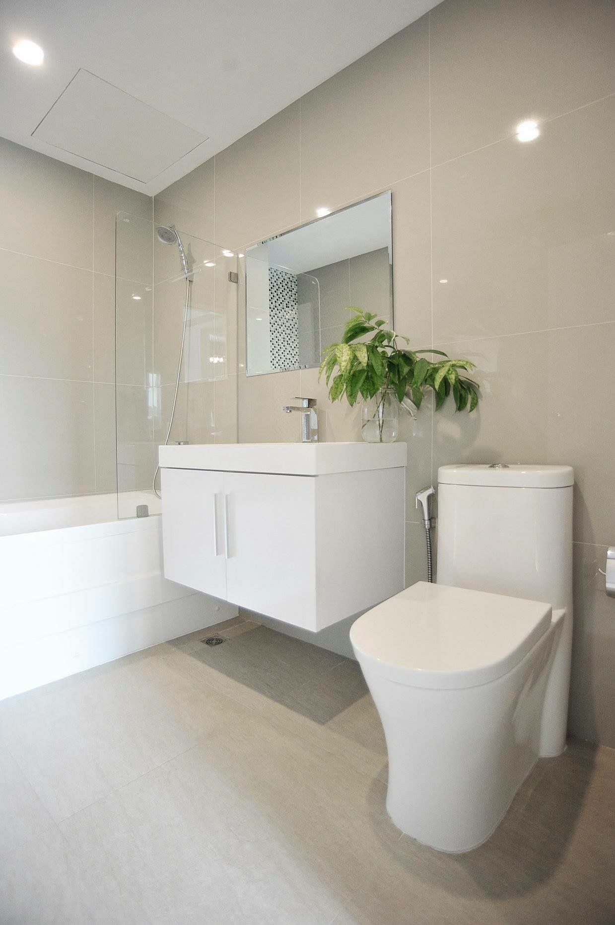 White sanitary ware is must have for small bathroom ...