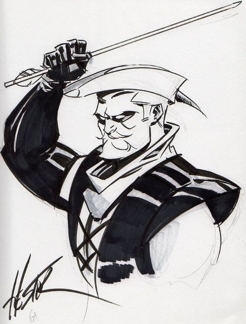 Green Arrow by Phil Hester; the best comic art for the hero | Nerd ...