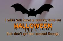 Spooky time on Halloween Wallpaper
