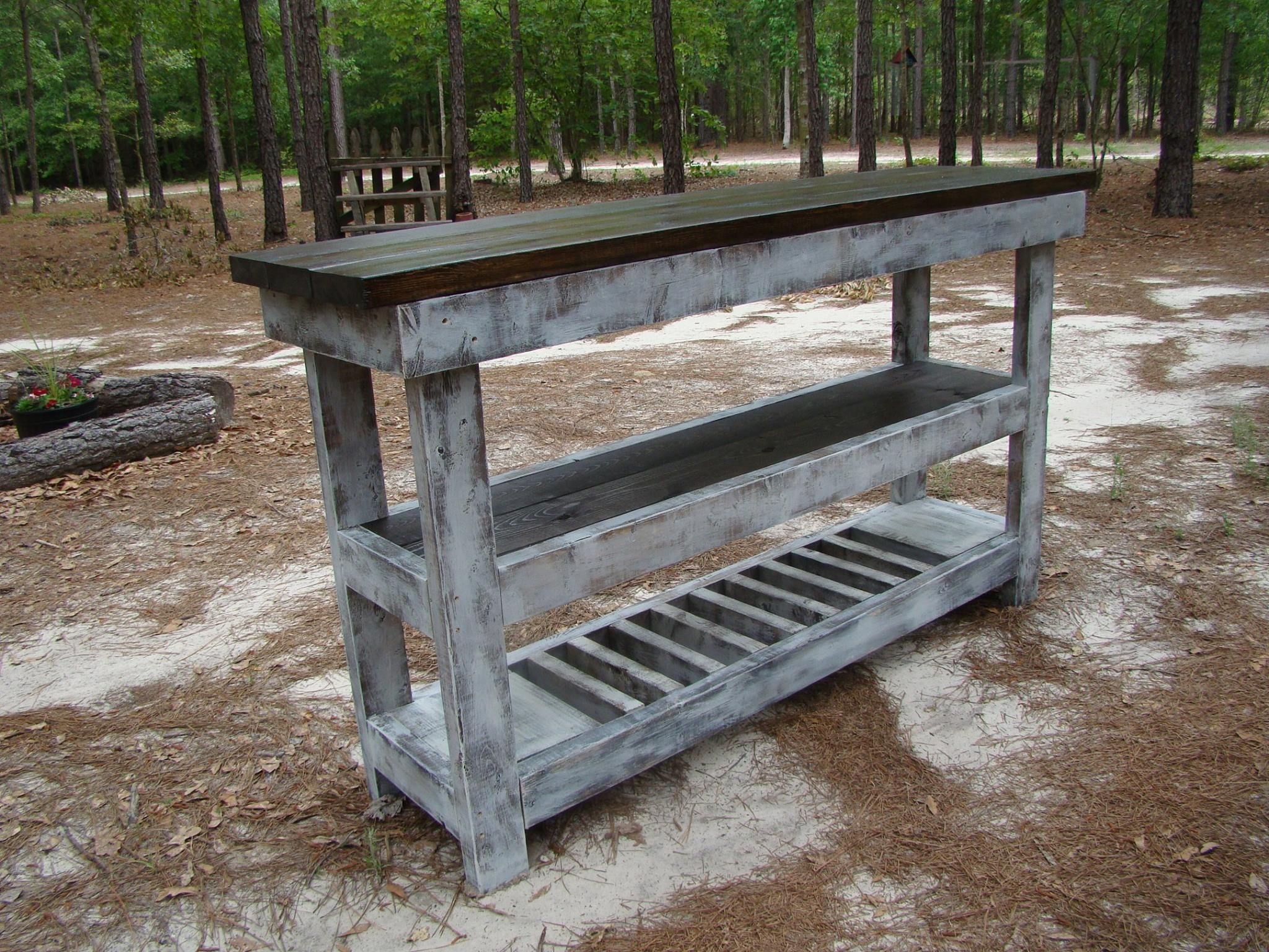 Handcrafted farmhouse furniture by lisa harris buffet
