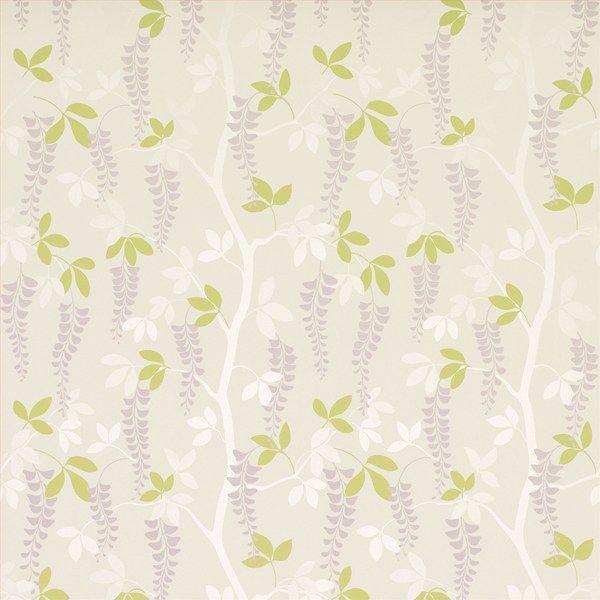 Guest Room Wallpaper: Laura Ashley Avebury Amethyst