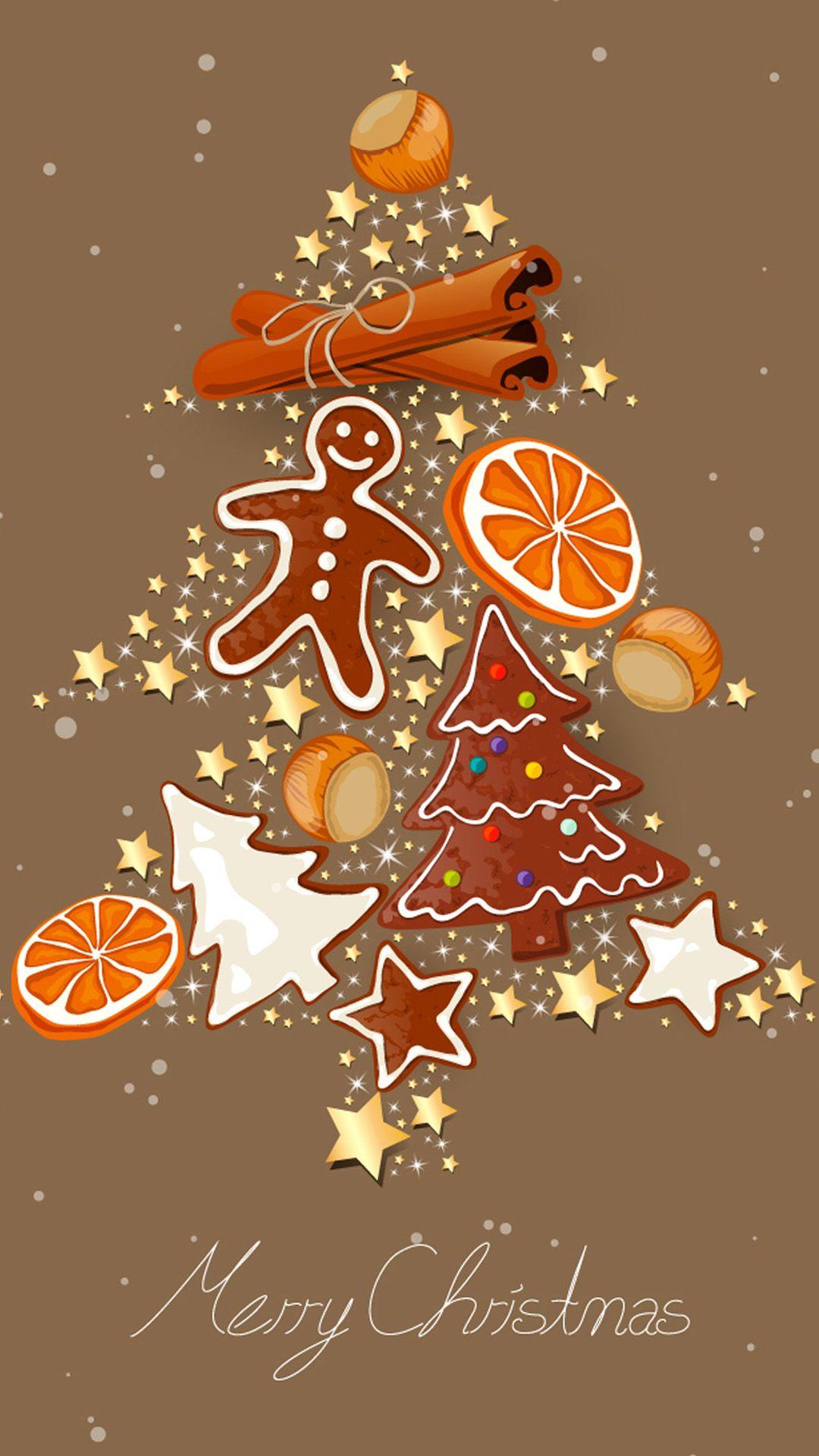 Merry Christmas Sweets Tree Samsung Wallpapers Christmas
