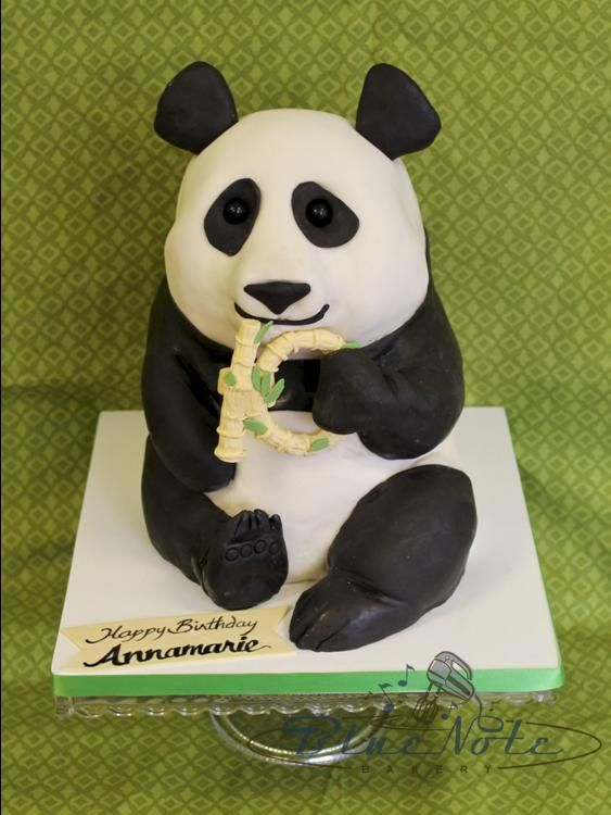 Sweet Panda Birthday | Blue Note Bakery - Austin, Texas