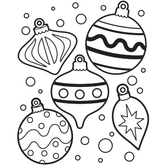 Ornaments Coloring Page Free Christmas Coloring Pages Printable Christmas Coloring Pages Christmas Ornament Coloring Page