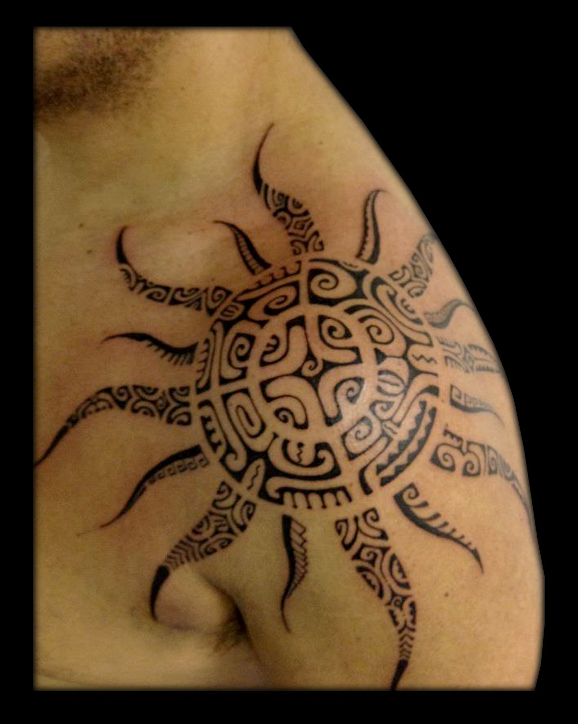 By heikua tattoo maori tribal polynesian polinesio for Medusa tattoo significato
