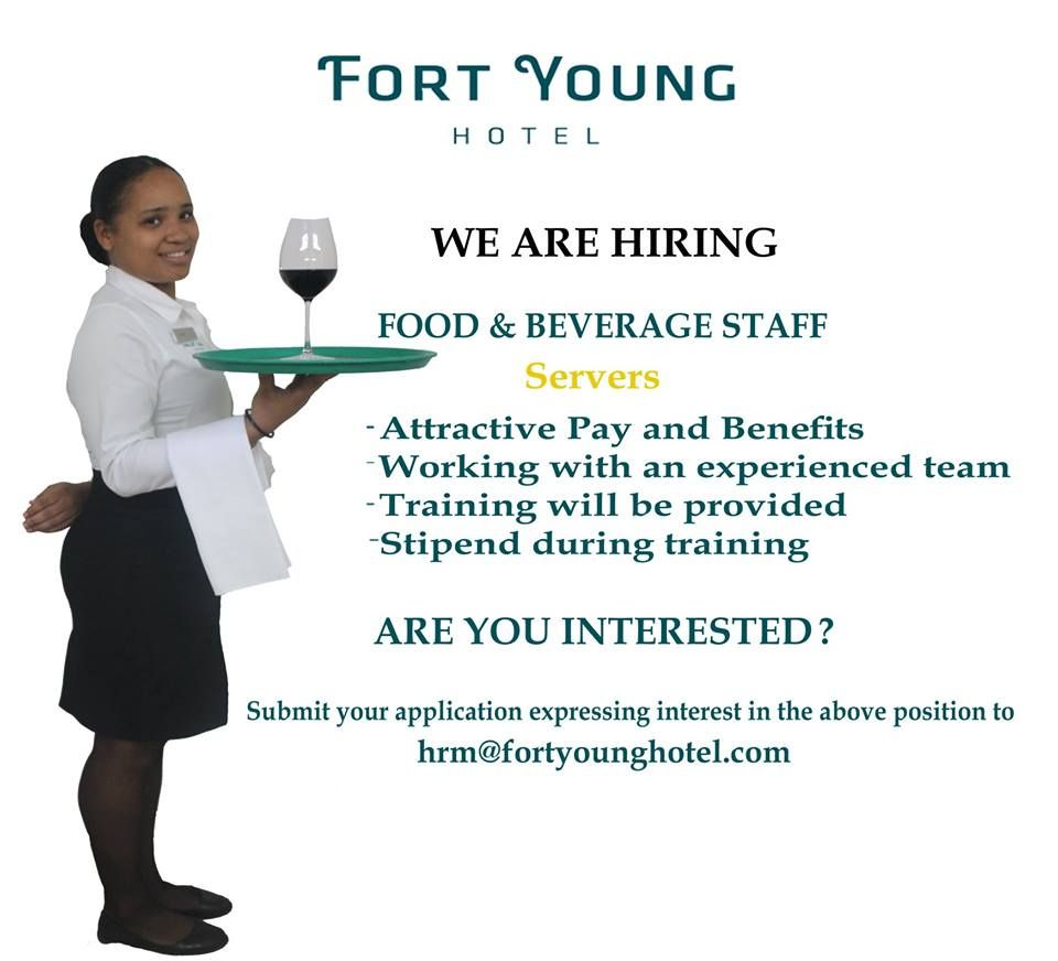 Fort Young Hotel Job Website Caribbean Jobs Server